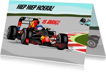 Verjaardag - racewagen formule 1