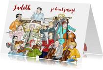 Verjaardag - Symfonie orkest