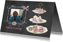 Verjaardagskaarten - verjaardag taartjes standaard