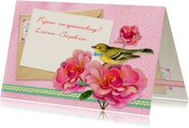 Verjaardagskaarten - Verjaardag zoet & romantisch