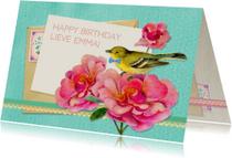 Verjaardagskaart zoet & lief