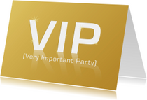 VIP Very Important Party GLANS