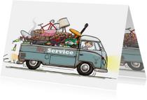 Volkswagen pick-up food