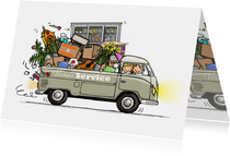 Volkswagen pickup verhuiskaart