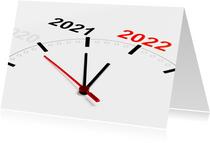 We tellen af naar Nieuwjaar 2022