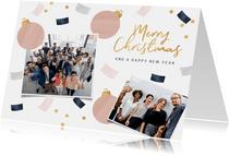 Weihnachtskarte Kunden und Partner Fotocollage