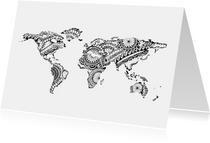 Woonkaarten - Wereld