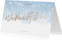 Winterliche Einladung zur Weihnachtsfeier