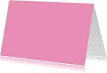 Zacht roze liggend dubbel