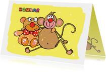 Zomaar beer en aap