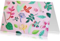 Zomaar Botanical pink