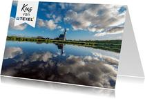 Zomaar kaart Liefs vanaf Texel