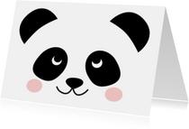 Zomaar kaart Panda
