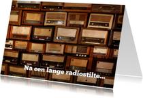 Zomaar na radiostilte...