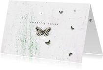 Zomaarkaart Butterfly Kisses