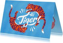 Zomaarkaart Hi Tiger