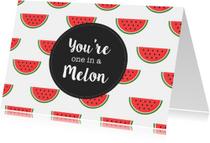 Zomaarkaart Meloen
