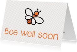 Beterschap - bee well soon