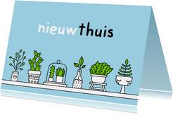 Felicitatie voor verhuizen Planten
