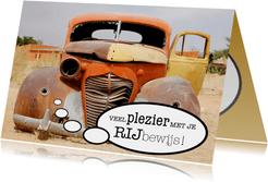 Gefeliciteerd Rijbewijs Autowrak - OT