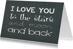 Liefde kaart I love you 1