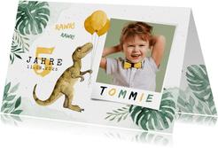 Niedliche Einladung Kindergeburtstag - Dinosaurierparty