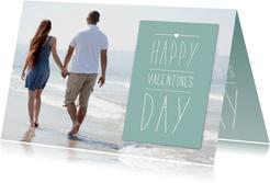 Valentijnskaart Foto met Vlak