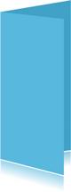 Blauw dubbel langwerpig