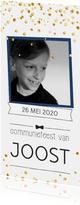 Communie confetti boy