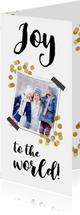 Confetti goud en 2 foto's - BK