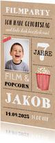Einladung zur Filmparty mit Foto