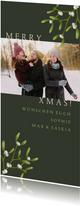 Foto-Weihnachtskarte Mistelzweige