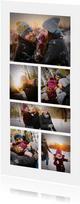 Fotokarte mit sechs Fotos