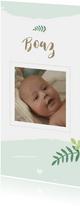 Geboorte - Botanisch met foto