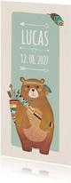 Geboorte indiaan beer langwerpig - BK