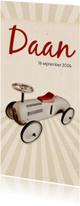 Geboorte loopwagen retro langwerpig - BK