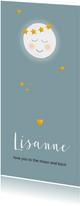 Geboorte maantje met sterren