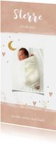 Geboortekaartje maan meisje