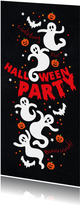 Geburtstageinladung Halloweenparty