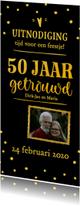 Jubileum - 50 jaar getrouwd langwerpig