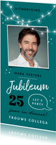 Jubileum werk uitnodiging feestelijk x jaar in dienst