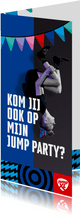 Jump XL kinderfeest JumpParty Jongen