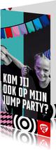Jump XL uitnodiging JumpParty Jongen/Meisje
