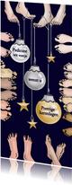 Kerst - pedicure