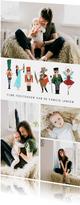 Kerstkaart notenkraker ballet collage