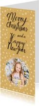 Kerstkaart sterretjes fotokaart