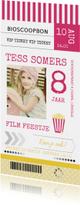 Kinderfeestje ticket film meisje