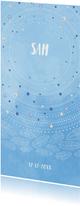 Geboortekaartjes - Lieve waterverf geboortekaart met fijne illustraties