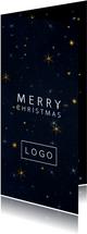 'Merry Christmas' geschäftliche Weihnachtskarte