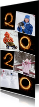 Nieuwjaar 2020 vuurwerk fotocollage